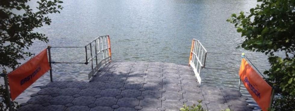 easydock swimathon pontoons